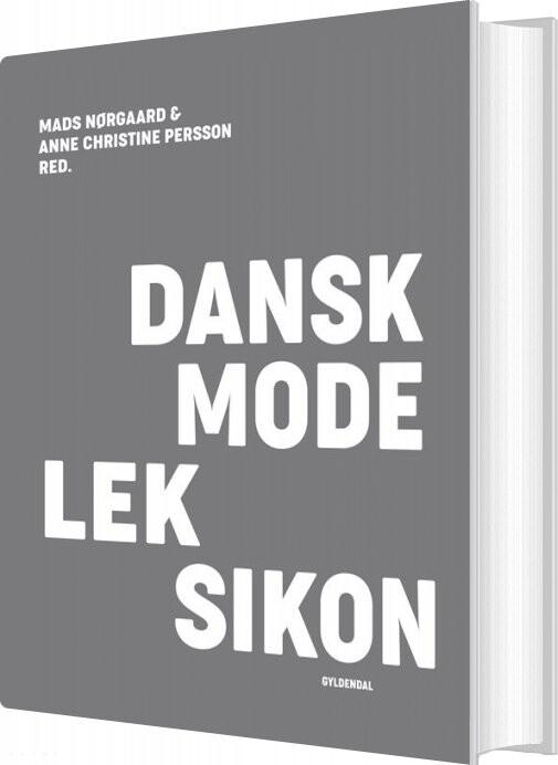 Image of   Dansk Modeleksikon - Mørkegrå - Anne Christine Persson - Bog