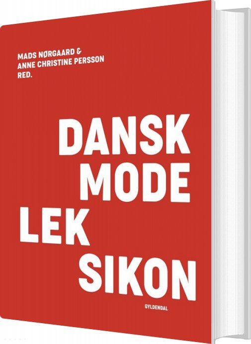 Billede af Dansk Modeleksikon - Rød - Anne Christine Persson - Bog