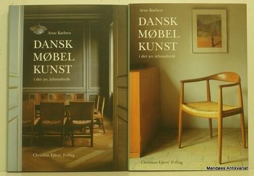 Image of   Dansk Møbelkunst I Det 20. århundrede, Bind 1+2 - Diverse - Bog