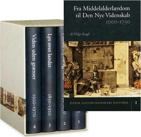 Dansk Naturvidenskabs Historie (bind 1-4) - Diverse - Bog