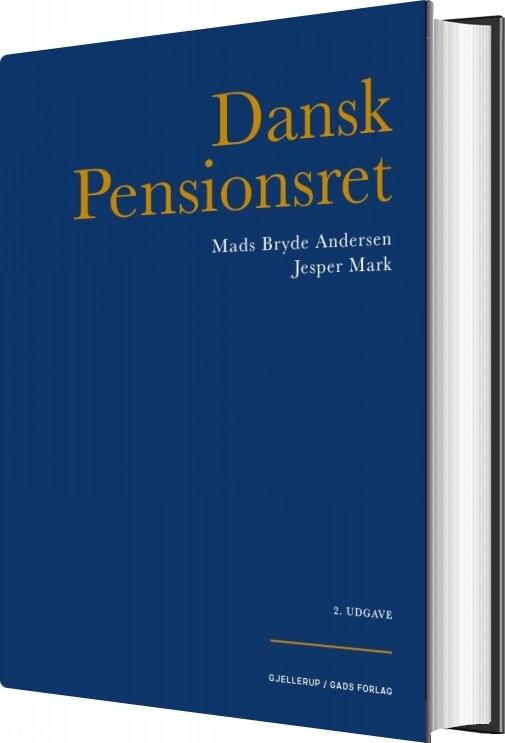 Image of   Dansk Pensionsret - Mads Bryde Andersen - Bog