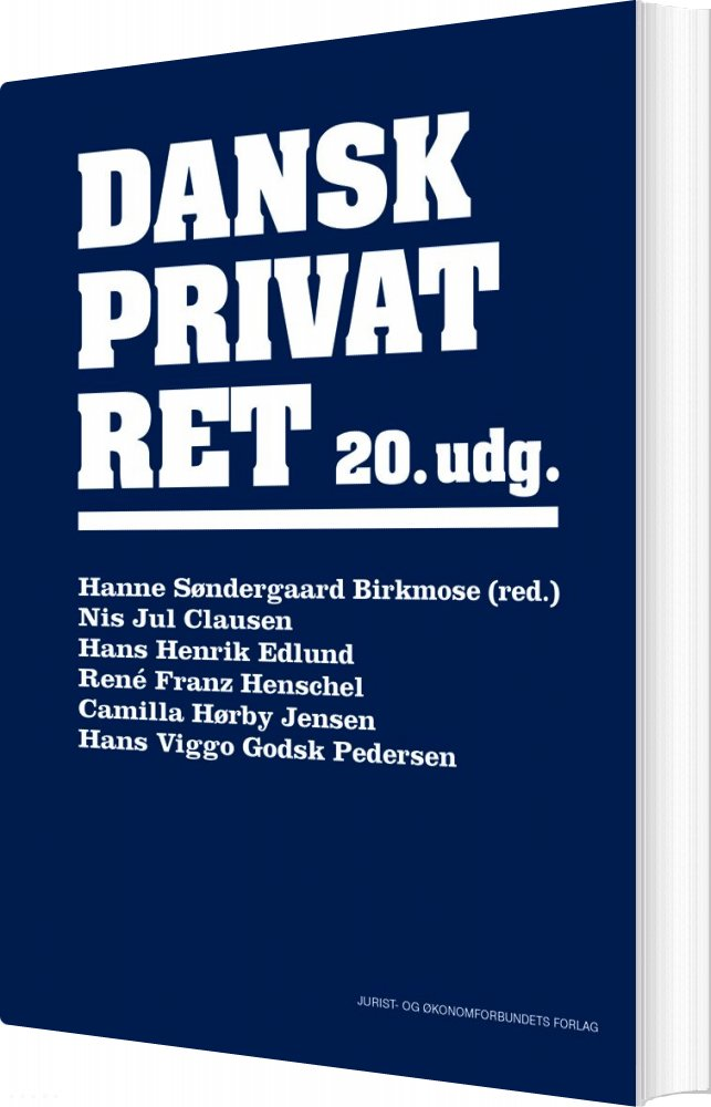 Billede af Dansk Privatret - 20. Udgave - Camilla Hørby Jensen - Bog
