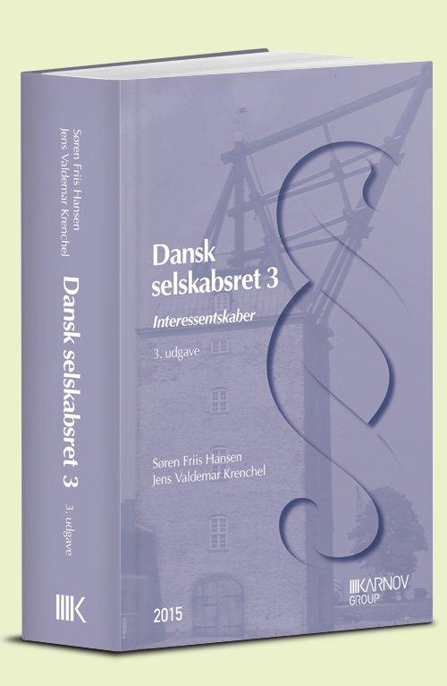 Image of   Dansk Selskabsret 3 - Jens Valdemar Krenchel - Bog