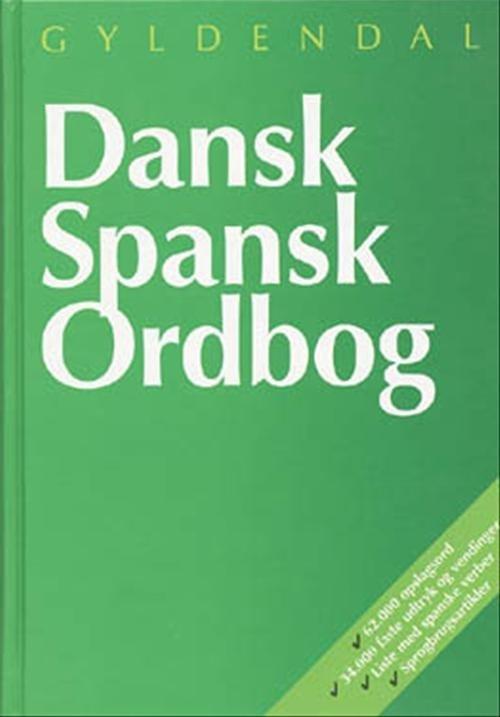 Image of   Dansk-spansk Ordbog - Johan Windfeld Hansen - Bog