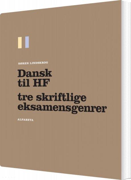 Image of   Dansk Til Hf - Søren Lindskrog - Bog