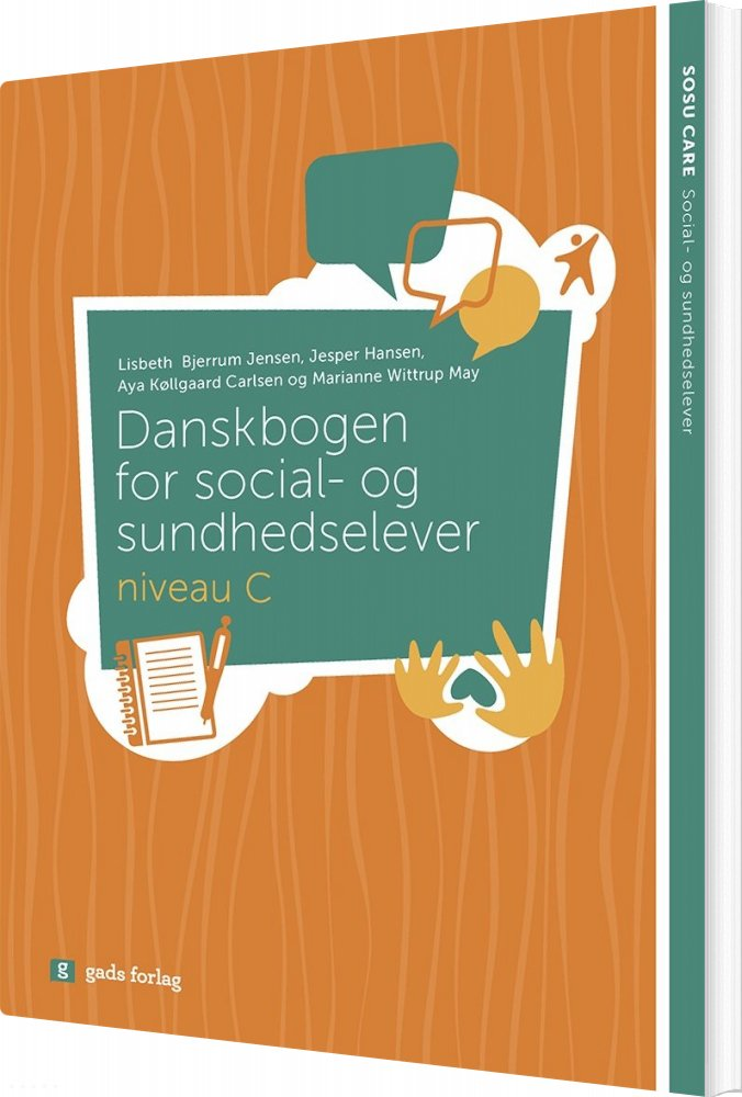 Image of   Danskbogen - Niveau C - Lisbeth Bjerrum Jensen - Bog