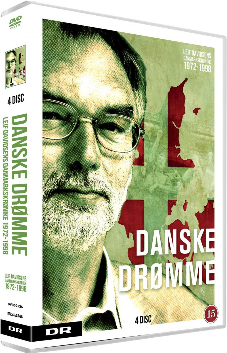Image of   Danske Drømme - Leif Davidsens Danmarkskrønike 1972-1998 - DVD - Film