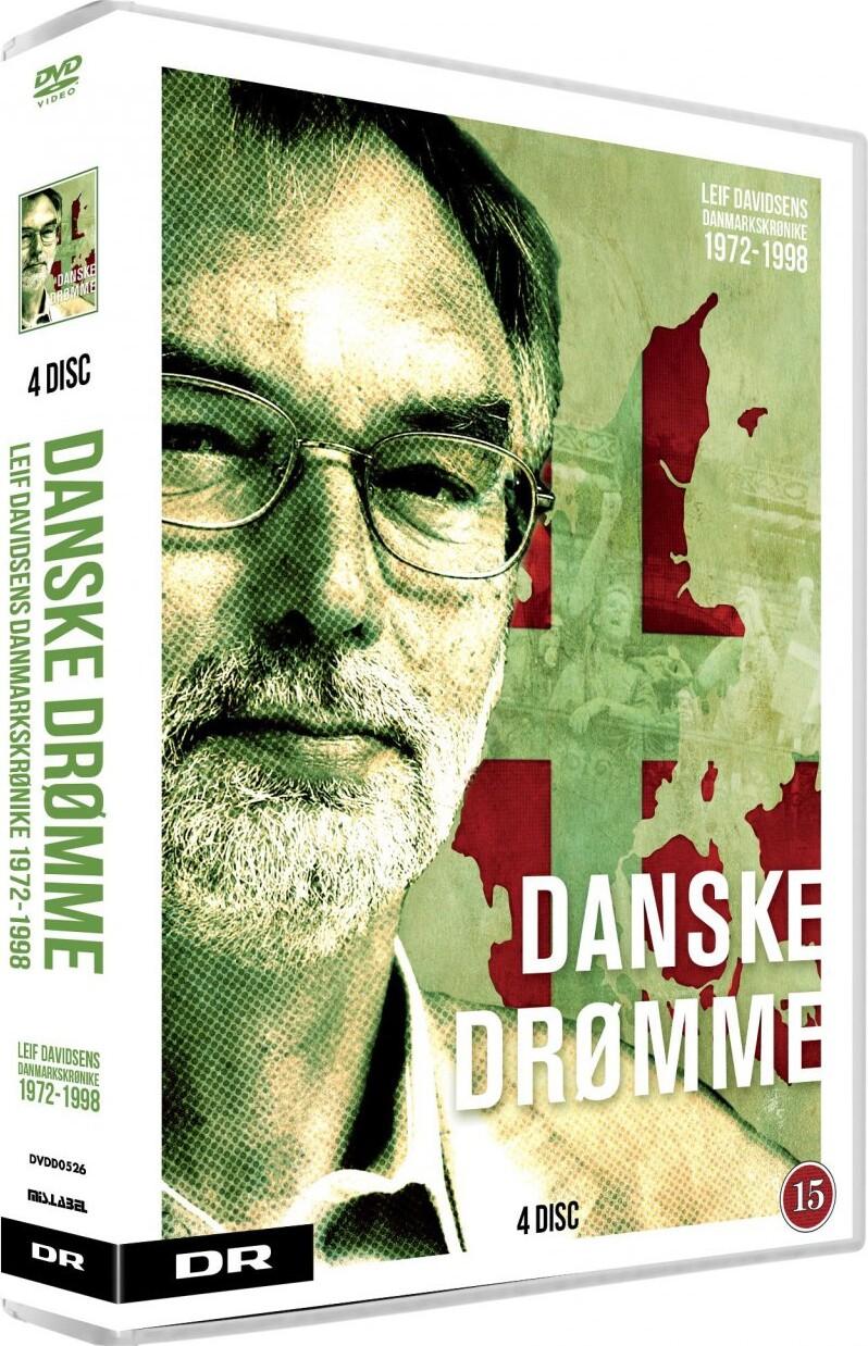 Danske Drømme - Leif Davidsens Danmarkskrønike 1972-1998 - DVD - Tv-serie