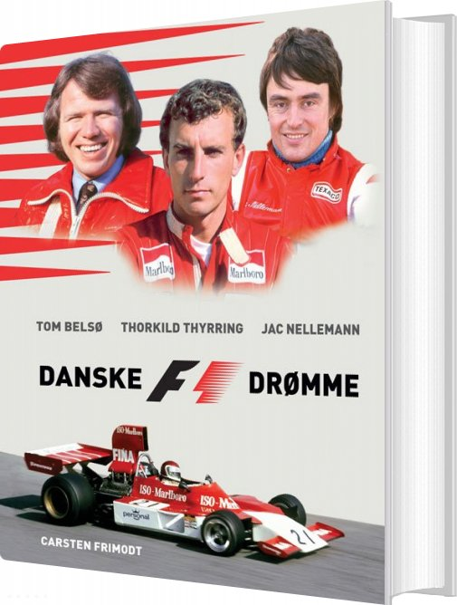 Image of   Danske F1 Drømme - Carsten Frimodt - Bog