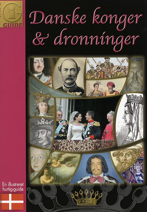 Image of   Danske Konger & Dronninger - Chilli Turell - Bog