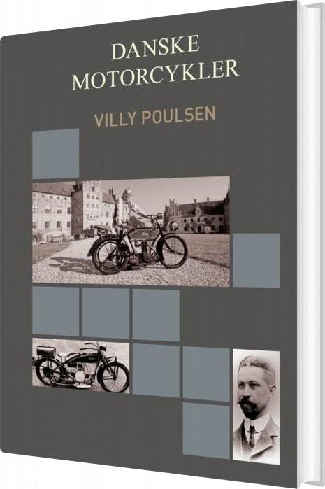Image of   Danske Motorcykler - Villy Poulsen - Bog