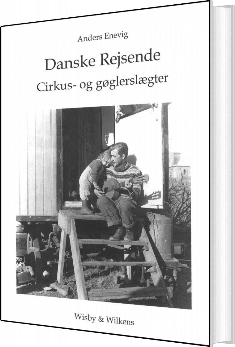 Billede af Danske rejsende cirkus- og gøglerslægter (Bog)