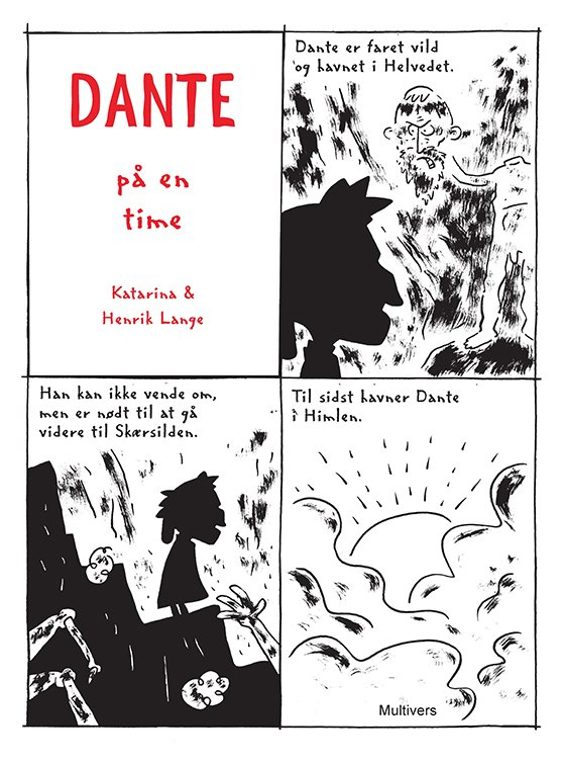 Image of   Dante På En Time - Henrik Lange - Tegneserie