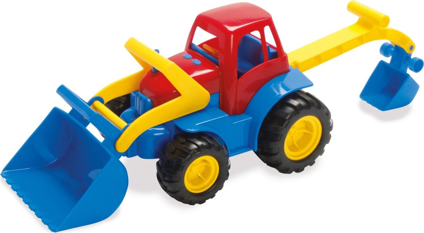 Image of   Traktor Legetøj Fra Dantoy Med Rendegraver