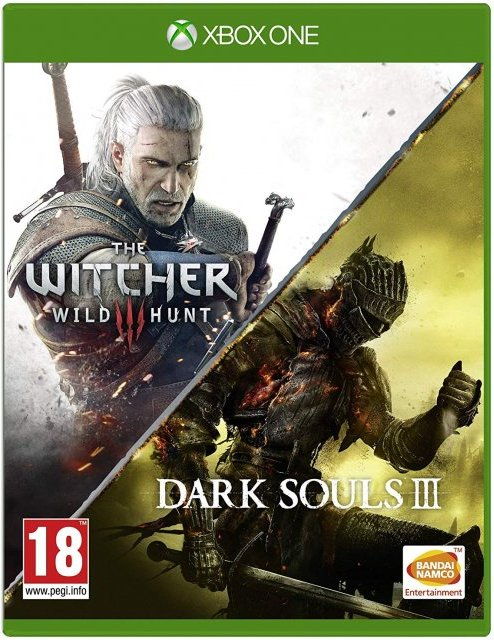 Image of   Dark Souls 3 // The Witcher 3 Wild Hunt - Xbox One