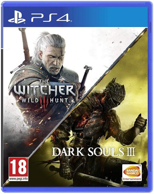 Image of   Dark Souls 3 / The Witcher 3 Wild Hunt - PS4