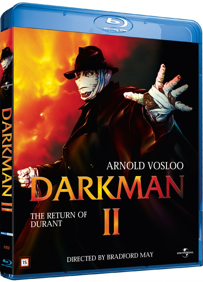 Image of   Darkman 2 - The Return Of Durant - Blu-Ray