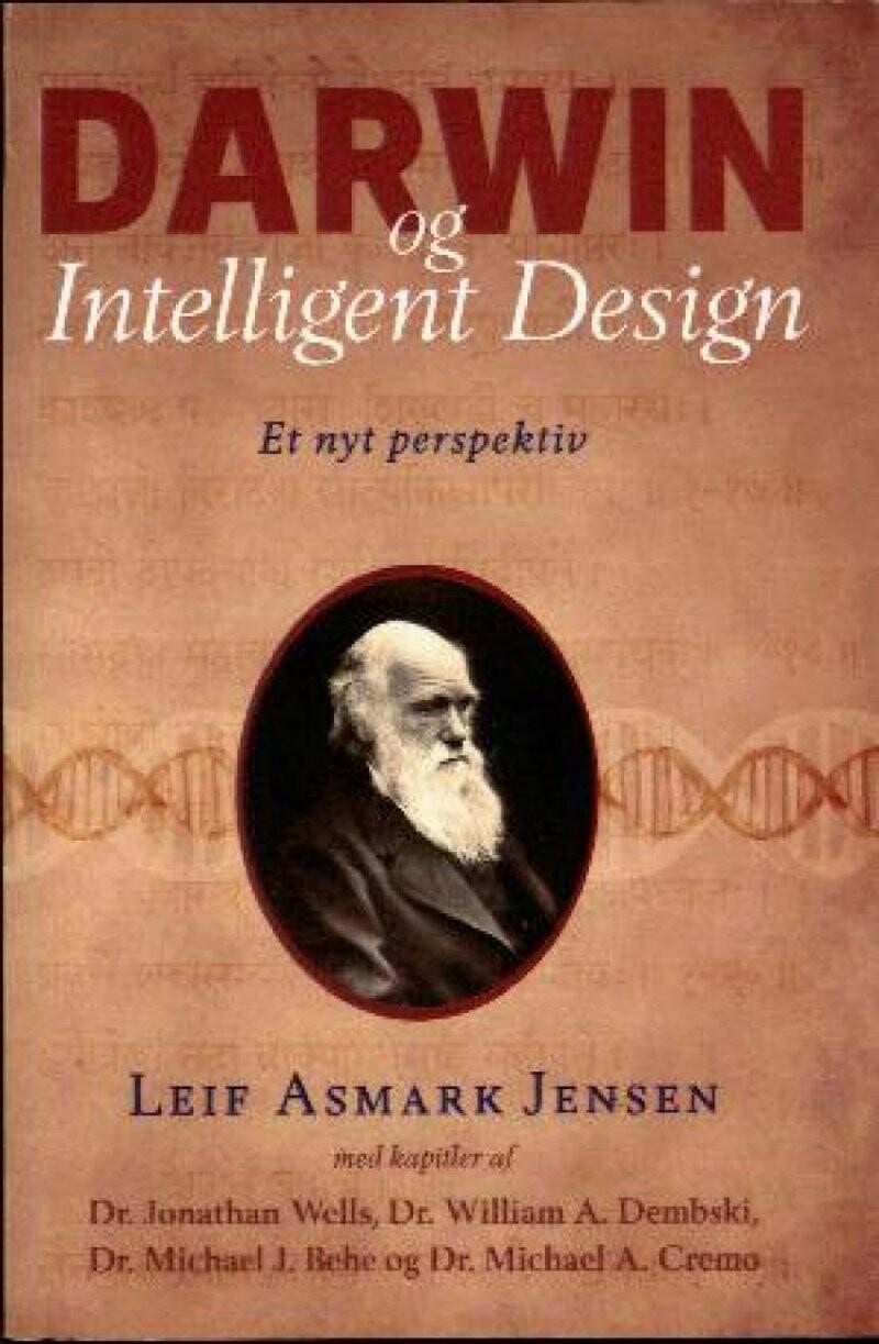 Image of   Darwin Og Intelligent Design - Leif Asmark Jensen - Bog