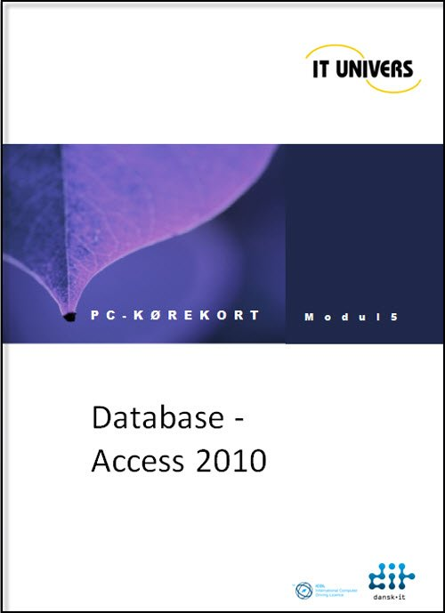 Image of   Database Access 2010 - Charlotte Cederstrøm - Bog