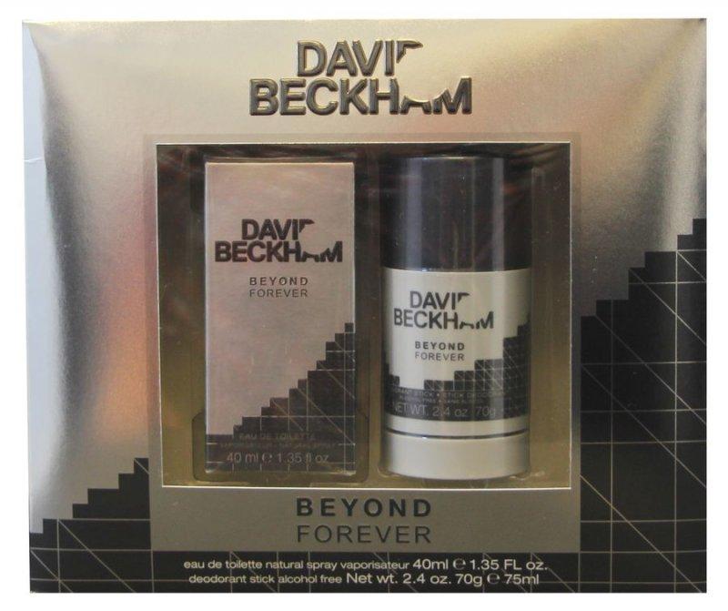 Gaveæske: David Beckham Beyond Forever Edt 40 Ml & Deospray 75 Ml