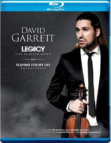 Image of   David Garrett: Playing For My Life - Blu-Ray