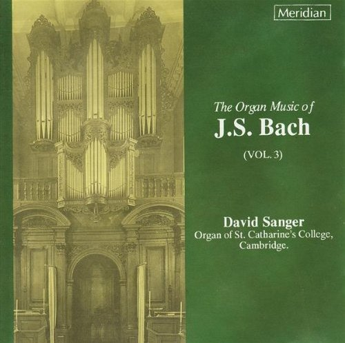 Image of   David Sanger - Bach: Organ Works Vol.3 - CD