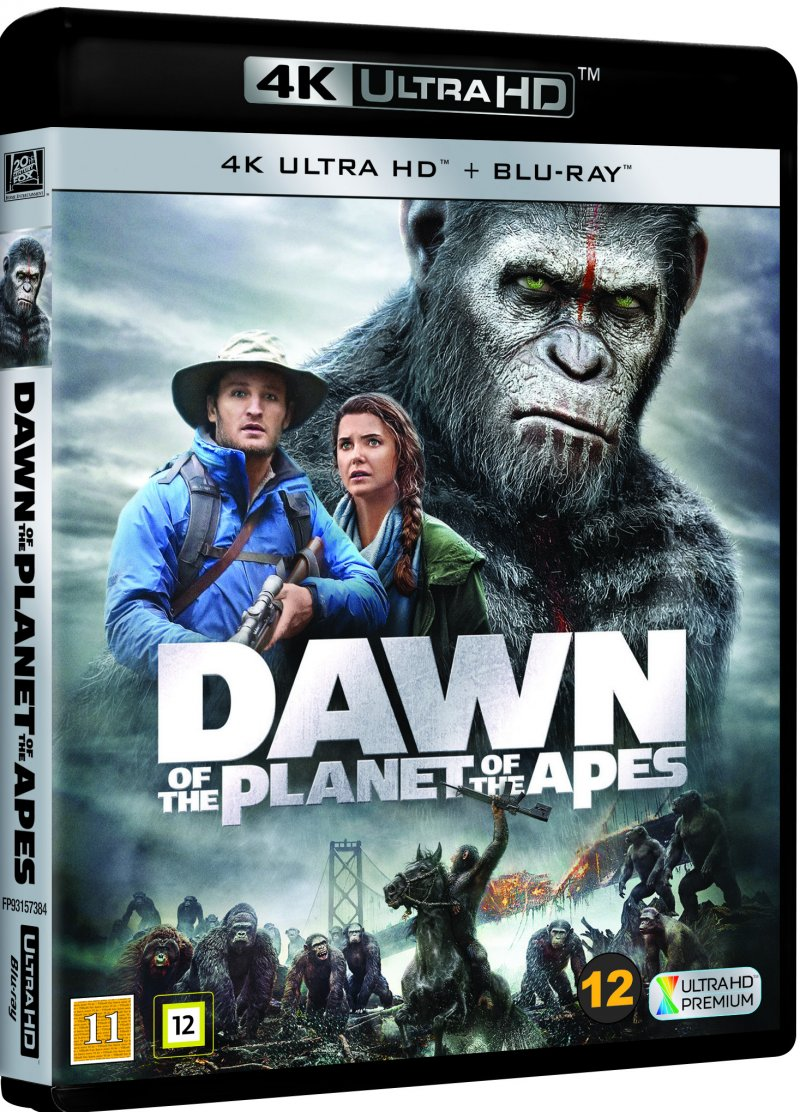 Image of   Dawn Of The Planet Of The Apes / Abernes Planet: Revolutionen - 4K Blu-Ray