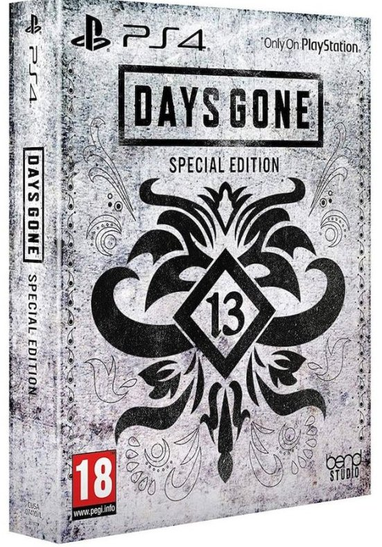 Image of   Days Gone - Special Edition - Nordic - PS4