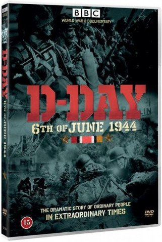 Image of   D-day - 6. Of June 1944 - Bbc - DVD - Film