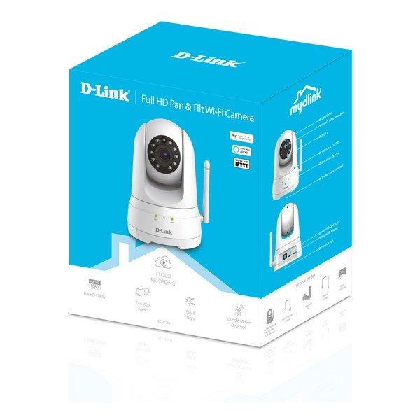Image of   D-link - Wifi Ip Kamera Til Overvågning - Dcs-8525lh - Fuld Hd - Hvid