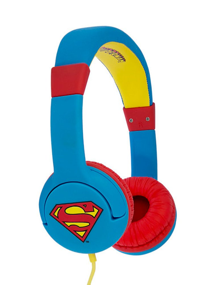 Image of   Dc Comics - Superman Headset - Man Of Steel - 3-7 år