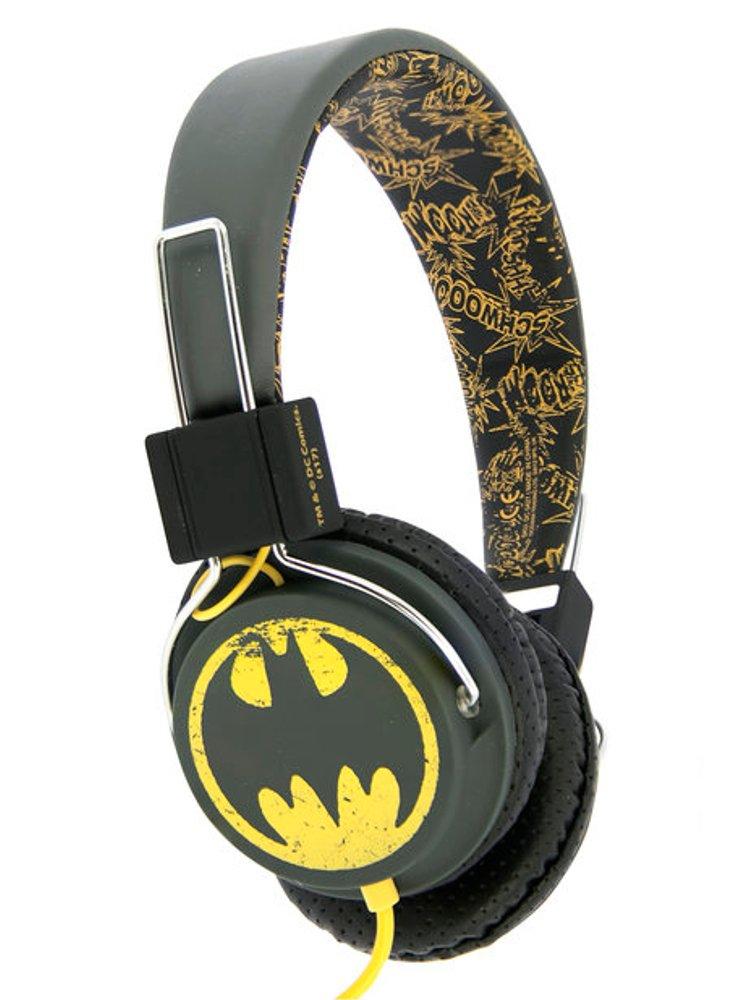 Image of   Dc Comics - Vintage Batman Headset - Fra 8 år