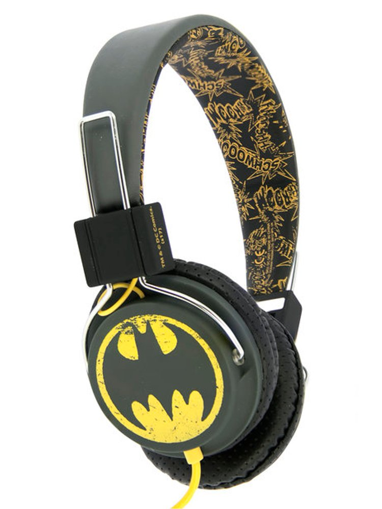 Image of   Dc Comics - Vintage Batman Headset - Fra 8 år