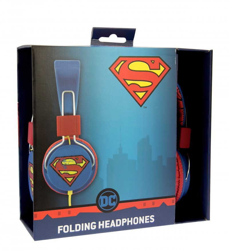 Image of   Dc Comics - Vintage Superman Headset - Fra 8 år