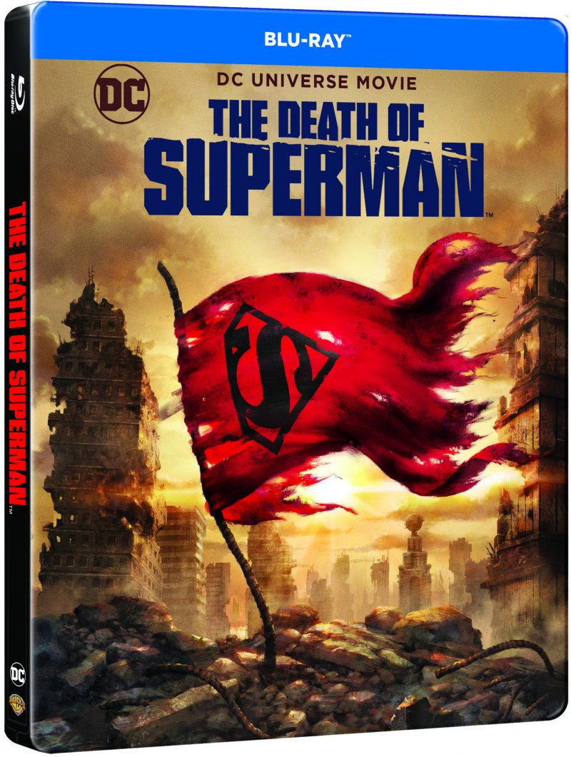 Image of   Dcu: The Death Of Superman Steelbook - Blu-Ray