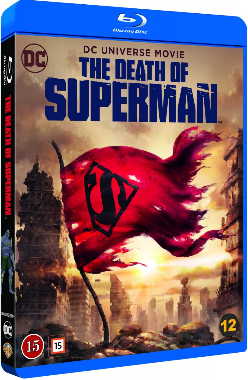Image of   Dcu: The Death Of Superman - Blu-Ray