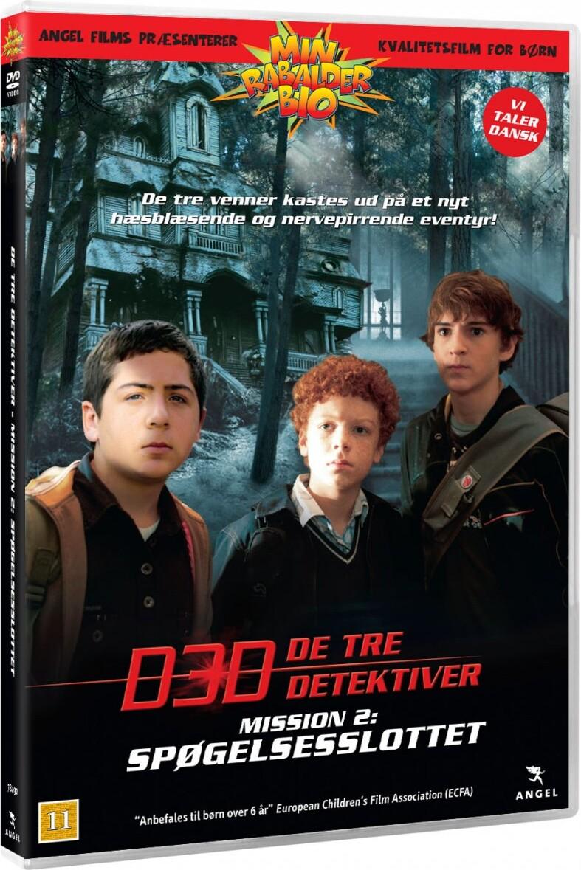 Image of   De 3 Detektiver: Spøgelsesslottet - DVD - Film