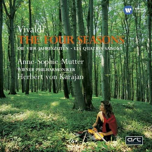 Image of   Anne Mutter-sophie - Vivaldi - De 4 årstider / The Four Seasons - CD