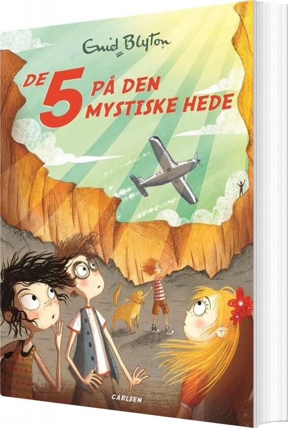 Image of   De 5 - 11 - De 5 På Den Mystiske Hede - Enid Blyton - Bog