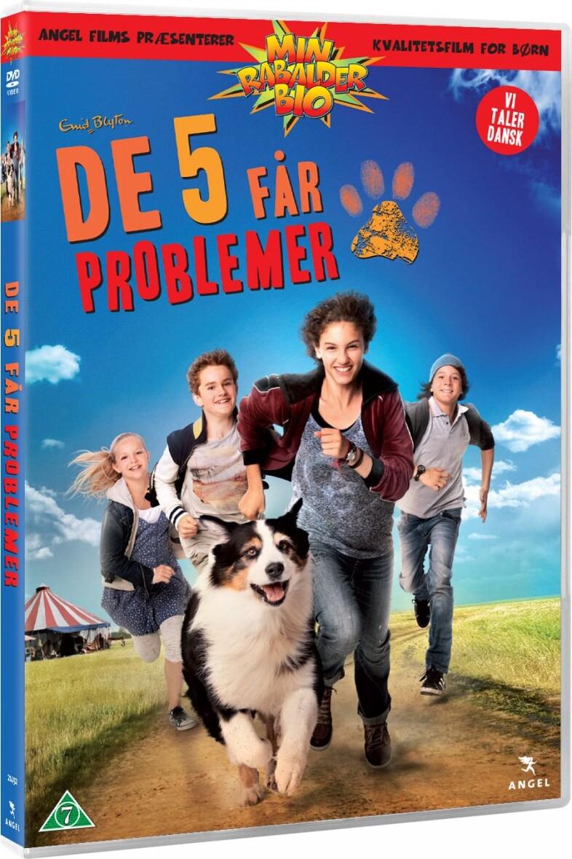 Billede af De 5 Får Problemer - DVD - Film