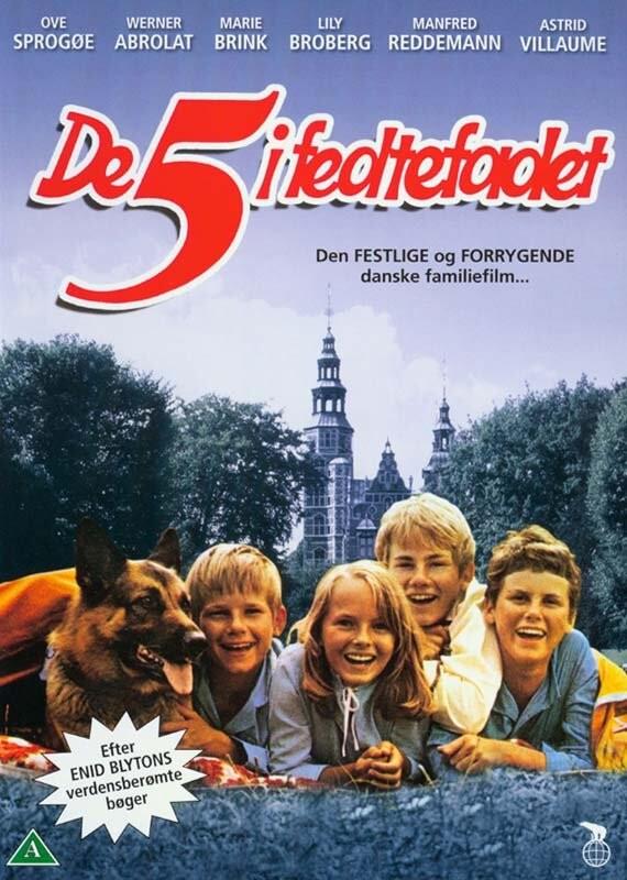 Image of   De 5 I Fedtefadet - DVD - Film