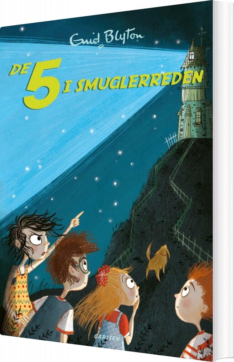 Image of   De 5 I Smuglerreden - Bind 4 - Enid Blyton - Bog