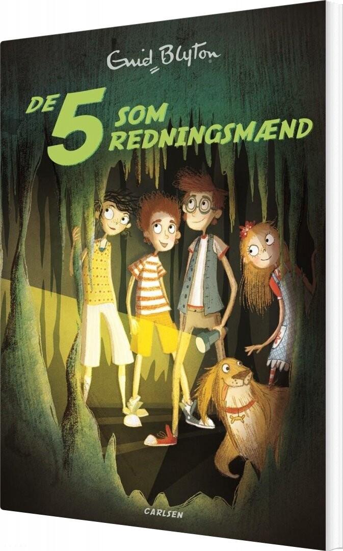 Image of   De 5 - Nr16 - De 5 Som Redningsmænd - Enid Blyton - Bog
