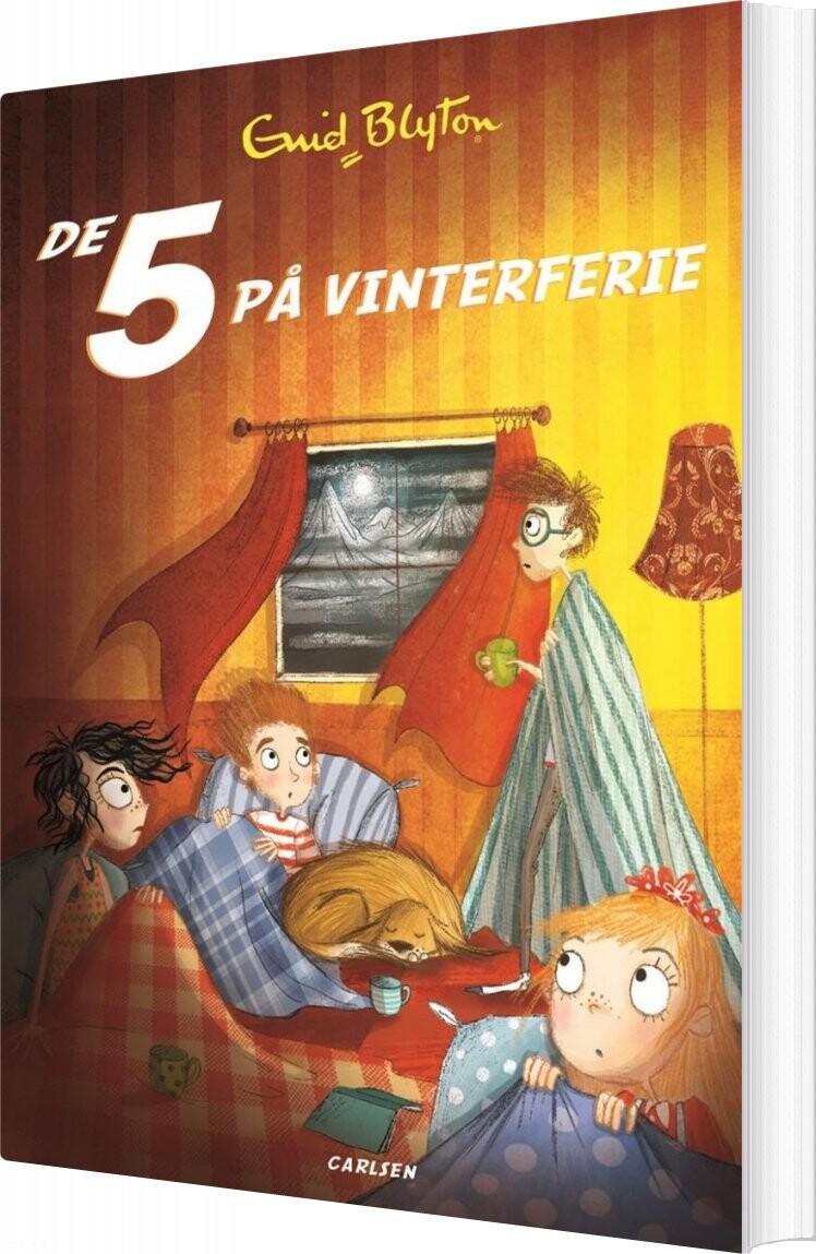 Image of   De 5 - Nr17 - De 5 På Vinterferie - Enid Blyton - Bog