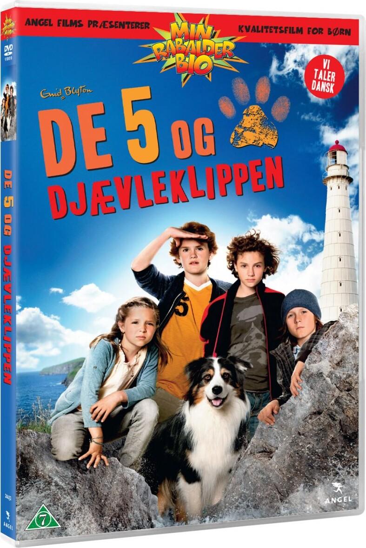 Billede af De 5 Og Djævleklippen - DVD - Film