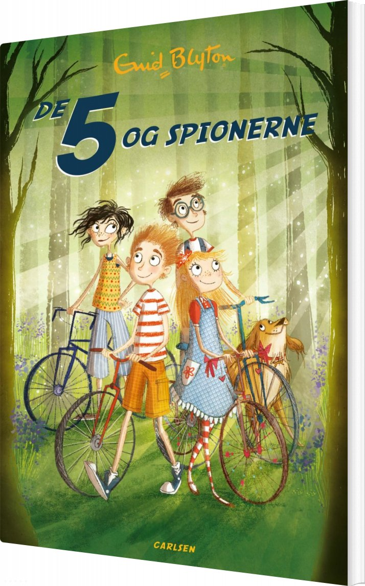 Image of   De 5 Og Spionerne - Bind 2 - Enid Blyton - Bog