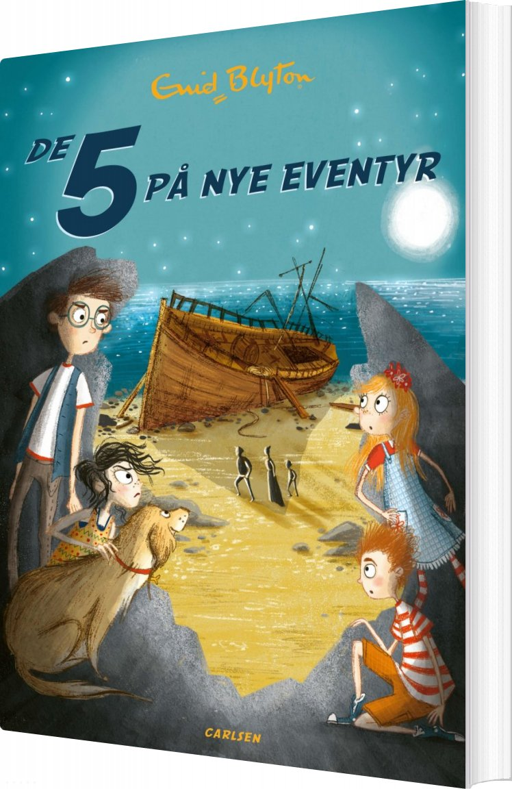 Image of   De 5 På Nye Eventyr - Bind 3 - Enid Blyton - Bog
