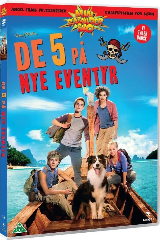 Billede af De 5 På Nye Eventyr - DVD - Film