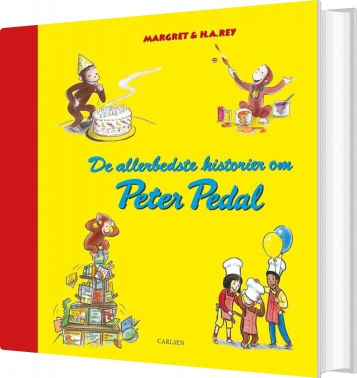 Image of   De Allerbedste Historier Om Peter Pedal - Jubilæumsudgave - H. A. Rey - Bog