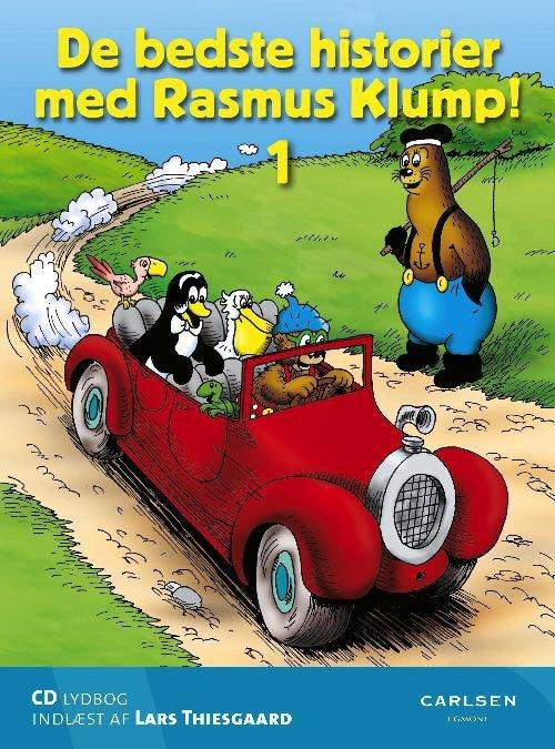 Image of   De Bedste Historier Med Rasmus Klump 1 - Carla Og Vilhelm Hansen - Cd Lydbog